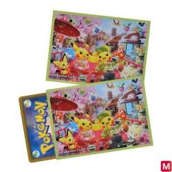 Pokémon Card Sleeves Sakura and Tea Ceremony japan plush