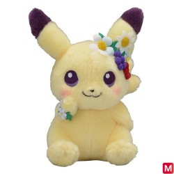 Peluche Pikachu Pâques 2019 japan plush