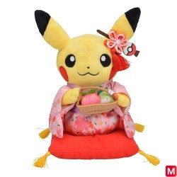Plush Pikachu Sakura Kimono japan plush
