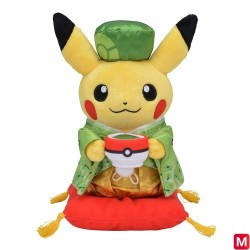 Plush Pikachu Matcha Kimono japan plush