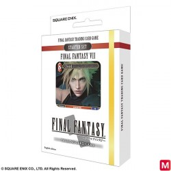 FINAL FANTASY VII TRADING CARD GAME Starter Set 2018 English Ver. japan plush