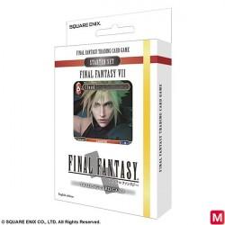 FINAL FANTASY VII TRADING CARD GAME Starter Set 2018 English Ver. japan plush