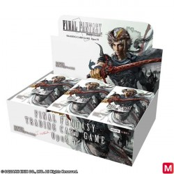 FINAL FANTASY TRADING CARD GAME Opus VI Display Box Japanese Ver. japan plush