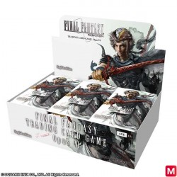 FINAL FANTASY TRADING CARD GAME Opus VI Display Box English Ver. japan plush