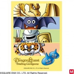Proteges Cartes Dragon Quest Trading Card Game Official Type 004 japan plush