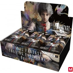 FINAL FANTASY TRADING CARD GAME Opus VII Display Box English Ver. japan plush