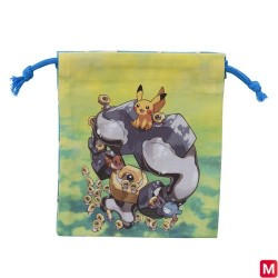 Petit sac Meltan et Melmetal japan plush