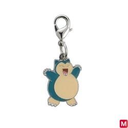 Metal keychain Snorlax 143 japan plush