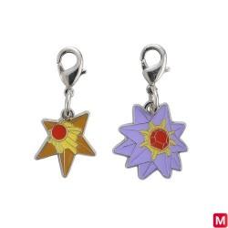 Metal keychain Staryu Starmie 120・121 japan plush