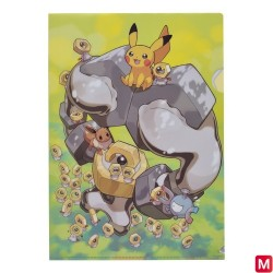 A4 Clear File Meltan Melmetal japan plush