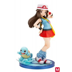 Pokemon Series Leaf with Squirtle Figure ARTFX J japan plush
