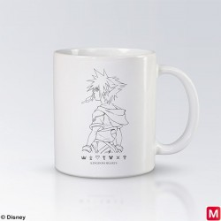 KINGDOM HEARTS Mug Tasse Sora B japan plush