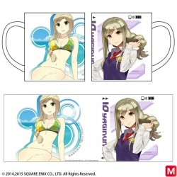 School Girls Try Cars Full Color Mug Cup japan plush