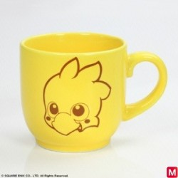 FINAL FANTASY Mug Cup Chocobo japan plush