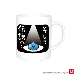 Star Dragon Quest Mug Cup Design Change Heat japan plush