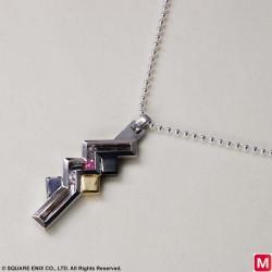 FINAL FANTASY XIII Silver Pendant Lightning japan plush