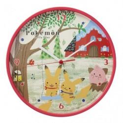 Wall Clock Pokemon little tales japan plush
