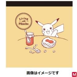 Memo Living with Pikachu Yellow japan plush