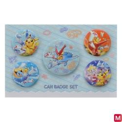 Badge Set Latias Latios japan plush