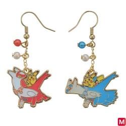 Drop hook Earrings Latios Latias japan plush
