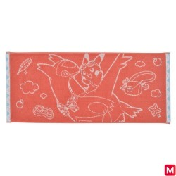 Face Towel Pikachu on Latias japan plush
