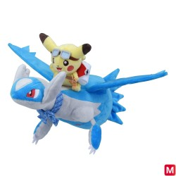 Peluche Pikachu sur Latios japan plush