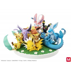 Eevee Evolutions G.E.M.EX Figure