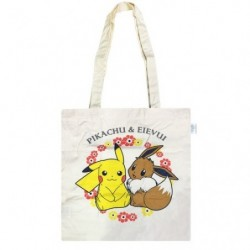 Eco Bag Cotton Pikachu Eevee japan plush