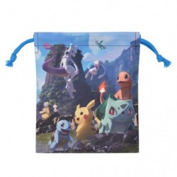 Drawstring Bag  Mewtwo Mew japan plush