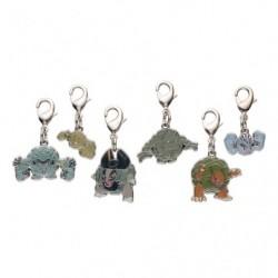 Porte-clé métal Racaillou Gravalanch Grolem Alola 074・A074・075・A075・076・A076 japan plush