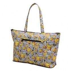 Folding tote bag Pikachu japan plush