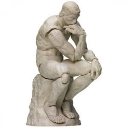 figma The Thinker: Plaster Ver. The Table Museum japan plush