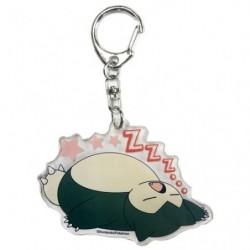 Keychain Snorlax Oyasumi japan plush