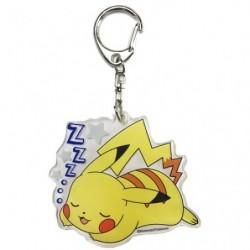 Keychain Pikachu Oyasumi japan plush