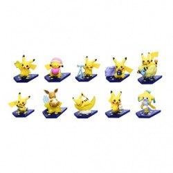 Mini Figurine Collection Oyasumi Pikachu Night Parade Complete Collection japan plush