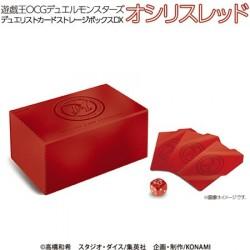 YuGiOh Card Storage Box DX Red japan plush