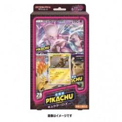 Pokemon Carte Special Jumbo Carte Pack Pikachu Detective Mewtwo GX Ver. japan plush