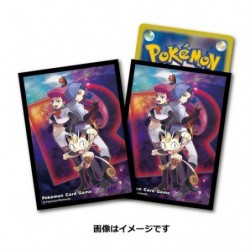 Pokemon Card Sleeves Team Rocket japan plush
