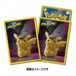 Pokemon Card Sleeves Pikachu Detective japan plush