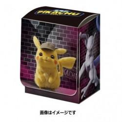 Pokemon Deck Box Pikachu Detective japan plush