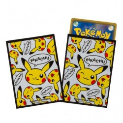 Pokemon Card Sleeves Pikachu Wink japan plush