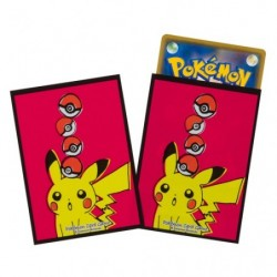 Pokemon Card Sleeves Pikachu Drawing japan plush