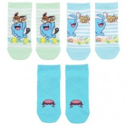 Chaussettes Courtes Everybody Qulbutoké R2 japan plush