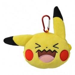 Mousqueton Everybody Qulbutoké Visage Pikachu japan plush