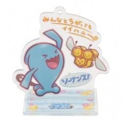 Keychain Everybody Wobbuffet Combee japan plush