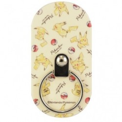 Smartphone Ring Pikachu Pokeball japan plush