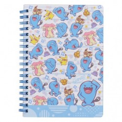 B6 Note Book Everybody Wobbuffet japan plush
