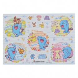 Sticker Everybody Wobbuffet japan plush
