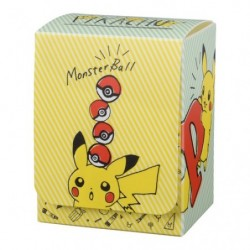 Pokemon Deck Case Pikachu Drawing japan plush