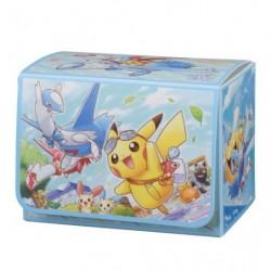 Pokemon Deck Box Pikachu sur Latias Latios japan plush